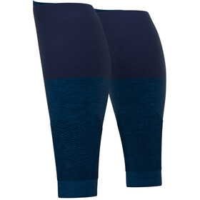 Compressport R2V2 Manchons de compression pour mollets, blue melange